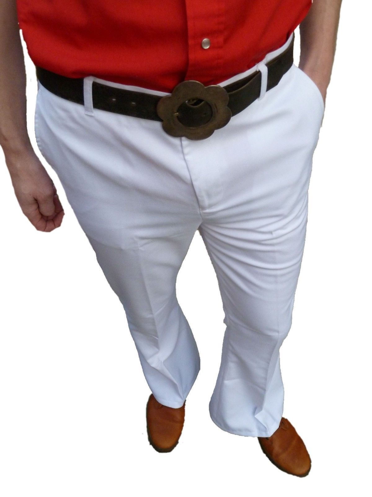 Adult Mens 70s Funky White Disco Bell Bottom Pants Costume. by Leg Avenue. $ - $ $ 20 $ 39 95 Prime. FREE Shipping on eligible orders. Some sizes/colors are Prime eligible. out of 5 stars Product Features Color: white. Vibrant Women's Juniors Bell Bottom .